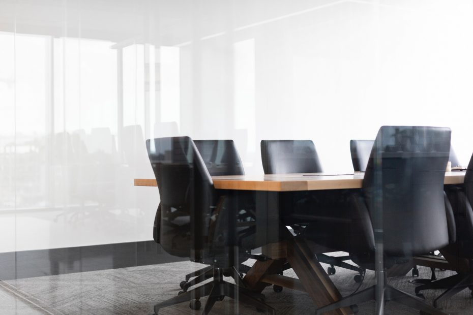 Chairs at an advisors meeting